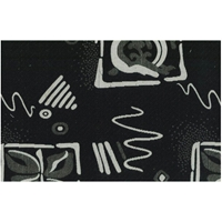 Black and White Zen Dream Tapestry Futon Cover