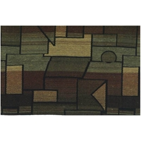 Hypotenuse Tapestry Full Size Futon Cover with 2 Pillows