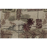 Japanese Garden Tapestry Full Size Futon Cover with Pillows and Bolsters