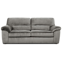 Baltimore Padded Sleeper Sofa - Cumulus Charcoal Fabric