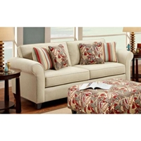 Essex Sleeper Sofa with Accent Pillows