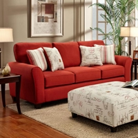 Gloucester Mariner Flame Fabric Sofa Sleeper