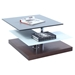 Cocktail Table - Swivel Top, Gray, Walnut - CI-2506-CT