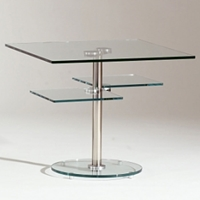 Decker Square Lamp Table