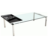 Asteria Rectangular Cocktail Table with Motion Tray