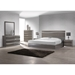 Delhi Platform Bed - High Gloss Gray - CI-DELHI-BED