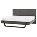 Sydney Platform Bed - Gray - CI-SYDNEY-BED