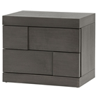 Sydney Nightstand - 2 Drawers, Gray