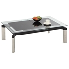 Tara Pop-Up Extension Cocktail Table - Black