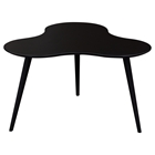 Beacon Cocktail Table - High Gloss Black Top