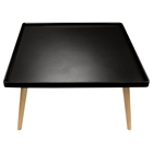 Cafe Square Cocktail Table - Black