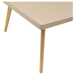 Cafe Square Cocktail Table - Taupe - DS-CAFECTTA