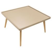 Cafe Square Cocktail Table - Taupe