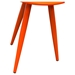 Duo 2 Pieces Nesting Tables - High Gloss Orange - DS-DUOETOR