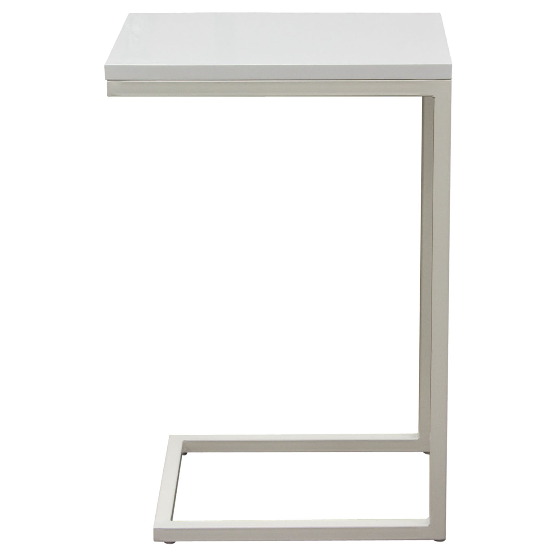 Edge Rectangular Accent Table - White - DS-EDGESTWH