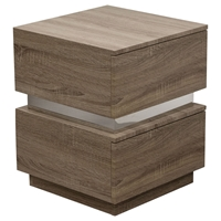 Elle 2 Drawers Accent Table - Java