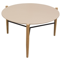 Karma Round Cocktail Table - Taupe