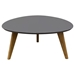 Trio Cocktail Table - Gray Top, Oak Legs - DS-TRIOCTGR