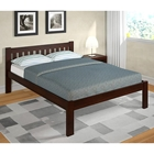 Finnegan Mission Full Size Bed - Slats, Dark Cappuccino