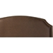 Trinity Leather Platform Bed - Ranger Brown - EGL-EAG6800-BED