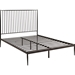 Annika Queen Platform Bed - Brown - EEI-5478-BRN