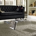 Bolt Clear Coffee Table - Magazine Holder - EEI-1018-CLR