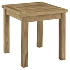 Marina Patio Teak Side Table - Natural