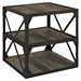 Bracket End Table - Brown - EEI-1201-BRN
