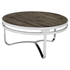 Provision Wood Top Coffee Table - Brown
