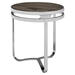 Provision Wood Top Side Table - Brown - EEI-1214-BRN