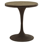 Drive Side Table - Wood Top, Brown