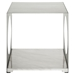 Surpass Side Table - White - EEI-258-WHI