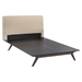 Tracy Wood Platform Bed - EEI-CAP-BED