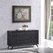 Tracy 3-Drawer Wood Dresser - Black - EEI-5241-BLK