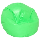 Neon Vinyl Kids Bean Bag Chair