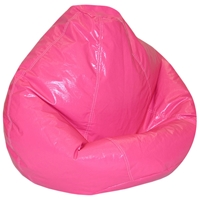 Wetlook Magenta Vinyl Bean Bag for Kids