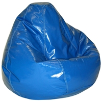 Wetlook Nautica Blue Vinyl Bean Bag for Kids