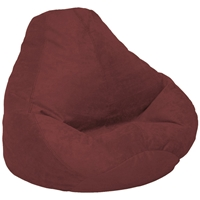 Velvet Luxe Berry Bean Bag