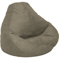 Microsuede Olive Bean Bag Chair