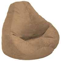 Velvet Luxe Extra Large Coffee Bean Bag