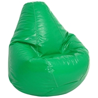 Wetlook Green Extra Large Bean Bag