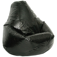 Wetlook Black Extra Large Bean Bag