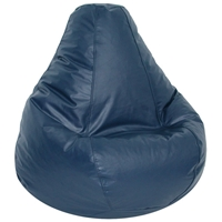 Lifestyle Navy Extra Large Bean Bag Chair