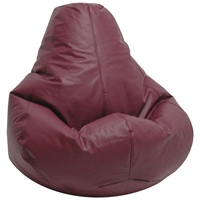 Lifestyle Burgundy Extra Large Bean Bag Chair
