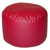 Lifestyle Bigfoot Footstool Bean Bag in Dark Red