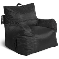 Big Maxx Kids Bean Bag Armchair - Black