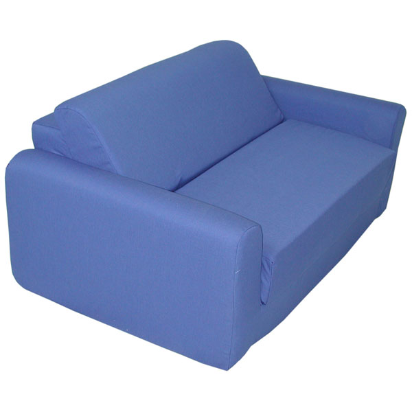Children's Foam Sleeper Sofa - Royal Blue