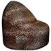 Mod Pod Chocolate Corduroy 52 inch Bean Bag - EL-32-6503-409
