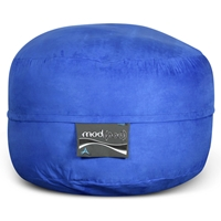 Mod Pod Bean Bag for Kids - Royal Blue Suede