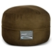 Mod Pod Bean Bag for Kids - Chocolate Suede - EL-32-7014-165